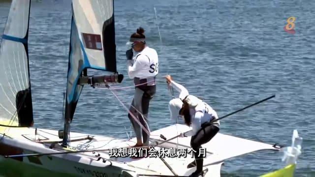 前线追踪 | 越重越快 帆船女将为奥运不惜增重?