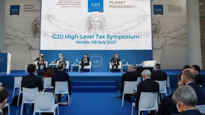 G20 to call for global tax deal to be finalised by October