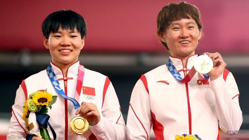 Olympics: Chinese champions wear Mao badges on cycling podium