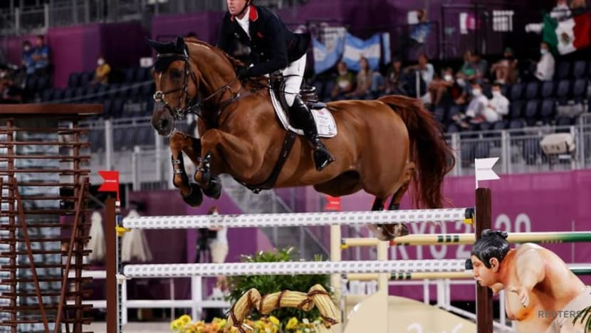Olympics-Equestrian-Britain's Maher leads qualifiers ahead of jumping finals