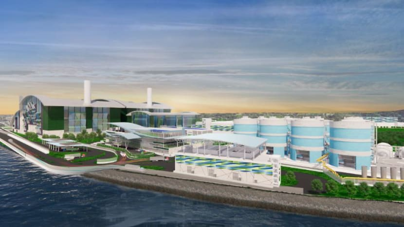 Construction begins on 'energy self-sufficient' water and solid waste treatment facility Tuas Nexus