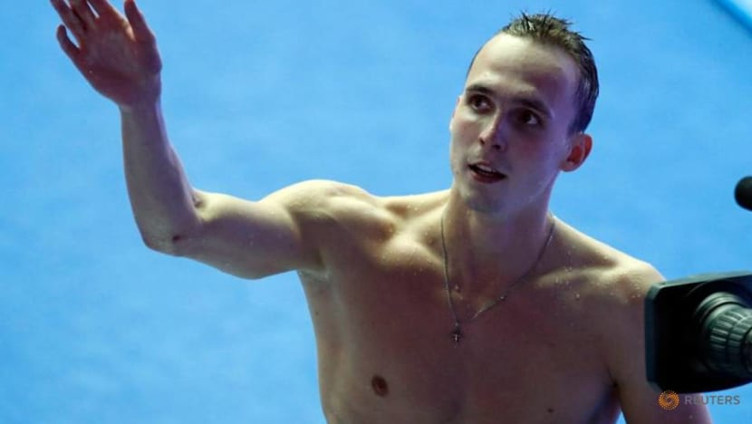 Olympics-Swimming-The Russians are back - and hunting gold