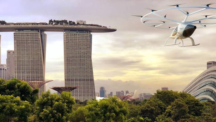 Flying air taxi to make first public showcase over Marina Bay on Oct 22