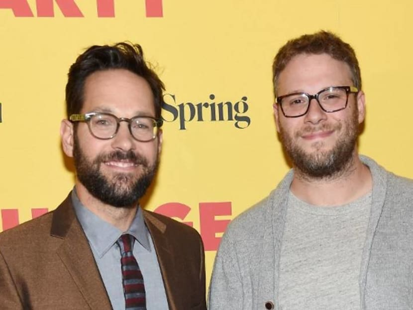 Ant-Man actor Paul Rudd tries to prank Seth Rogen, ends up giving him a massage