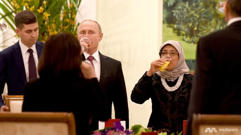 Despite differences, Singapore and Russia have 'long-standing friendship': President Halimah