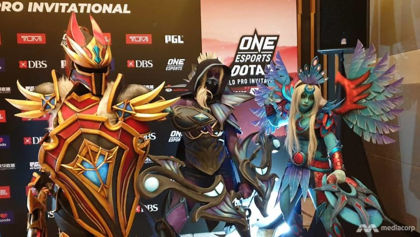Teams to play for US$1 million prize pool in major pro e-sports tournament in Singapore