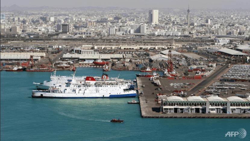 Explosion hits Singapore-flagged oil tanker in Saudi Arabia
