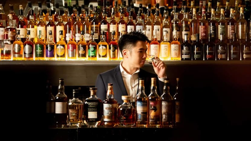 S$5,500 for a bottle of rare whisky? At The Fullerton, you can try a shot for S$166