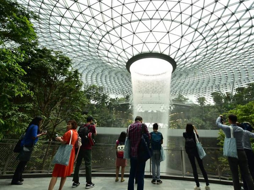 Jewel Changi Airport opens its doors to first visitors