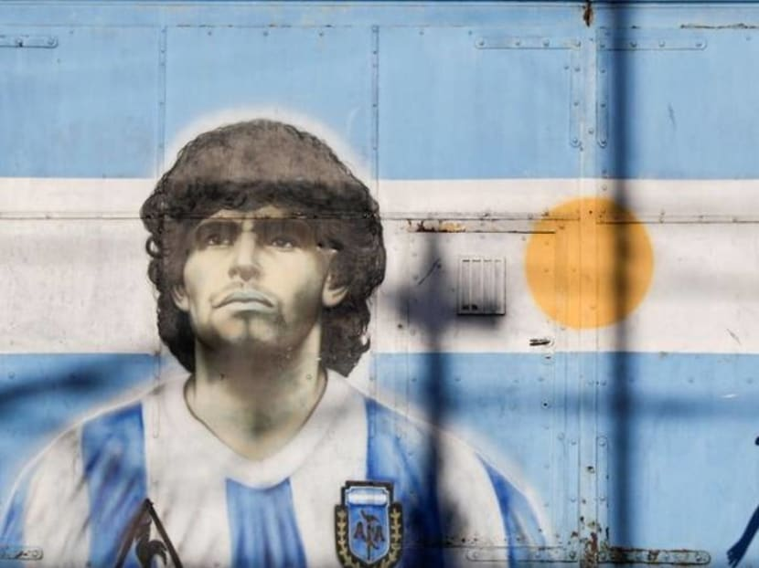Maradona's Hand Of God shirt could be yours - for US$2 million