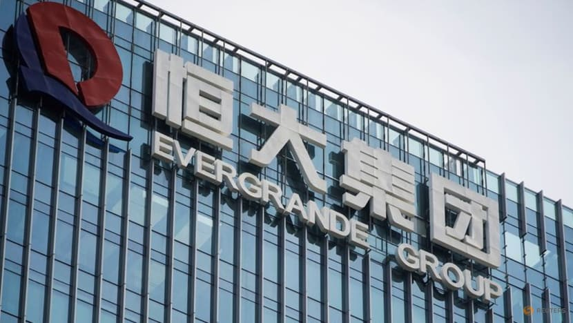 China property shares pummelled as Evergrande impact widens