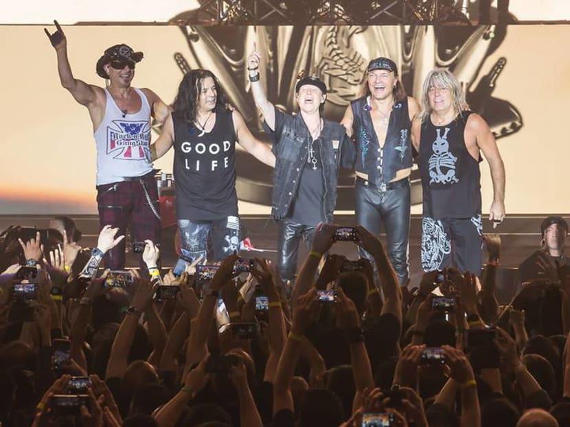 Rock bands Scorpions and Whitesnake to headline Singapore RockFest II