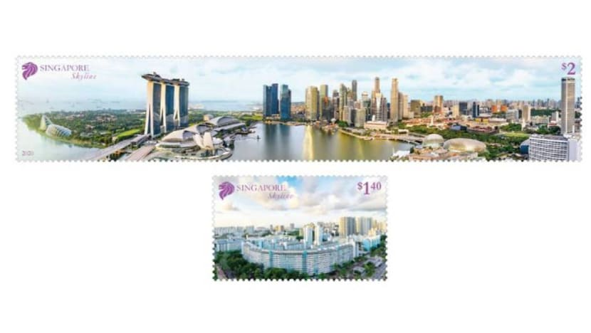 SingPost issues longest stamp in Singapore's history, featuring panoramic view of city skyline