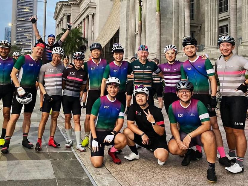 Social networking on wheels: The cycling club that'll give your career a leg up
