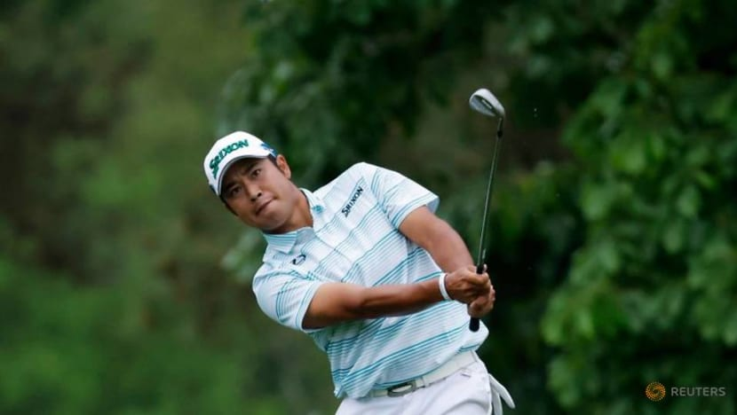 Golf: Fine weather greets early starters on Masters Sunday