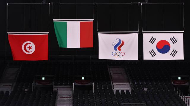 无法以国家名义参赛的俄罗斯奥委会代表队