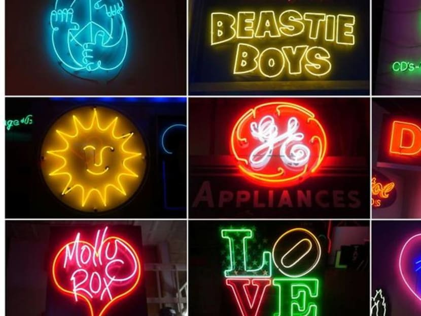The lights are on: New York store keeps neon dream alive for 50 years