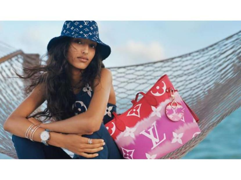 What to wear on your staycation: Louis Vuitton's 'paddle pop' beachwear