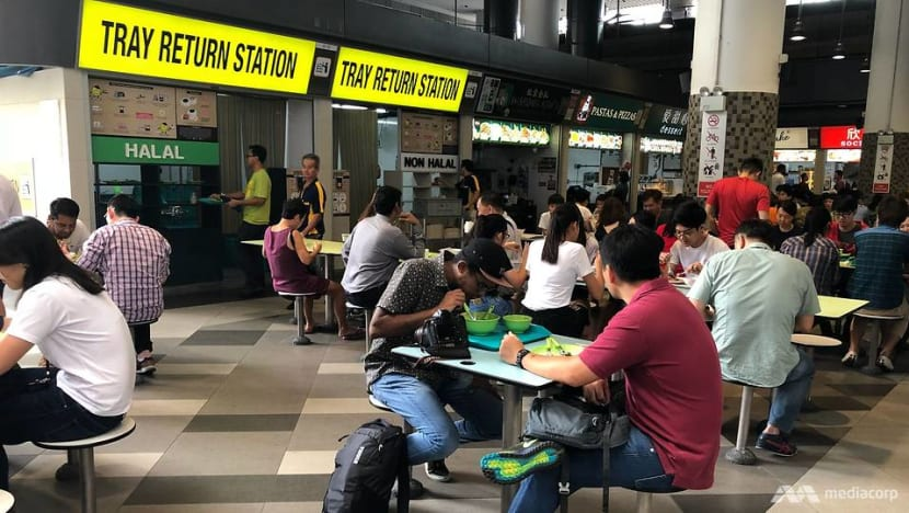 Dishwashing subsidy extended to stallholders at new hawker centres: NEA