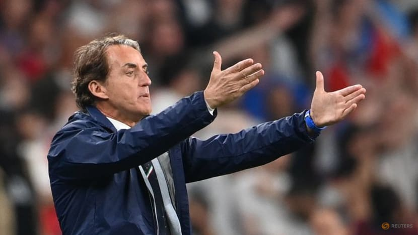 Football:Italy can get better before World Cup, says Mancini