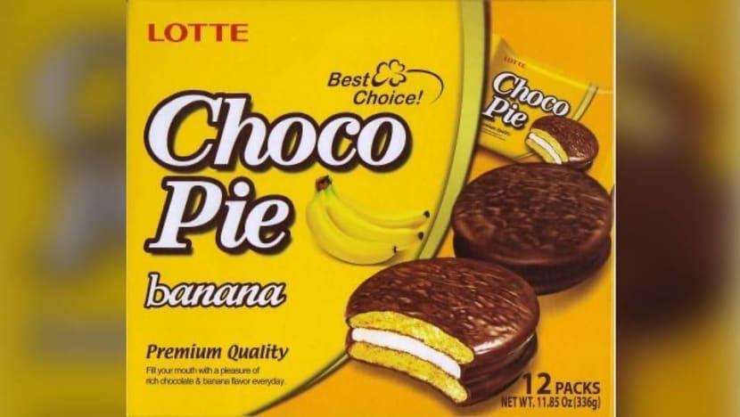 Lotte Choco Pie Banana recalled over undeclared almond allergen