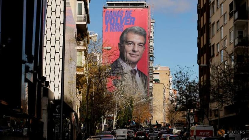 Football: Barca presidential election holds key to club's future