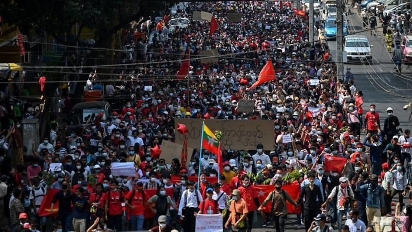 Thousands rally again in Myanmar against military coup