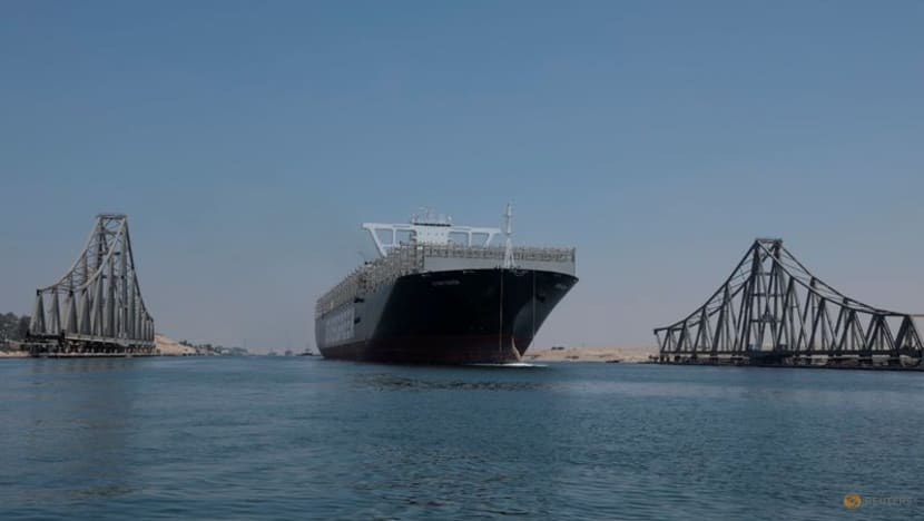 Ever Given, the ship that blocked Suez Canal in March, crosses the canal again
