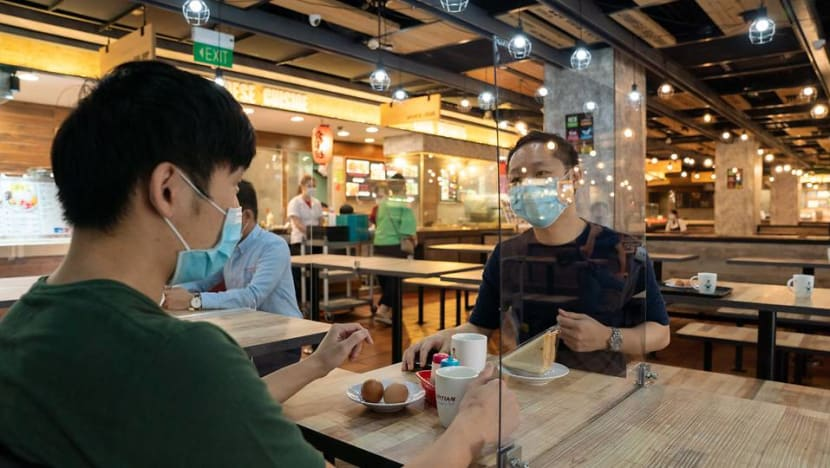 COVID-19: Selected Kopitiam, Food Junction food courts to test table-top separators for safe dining