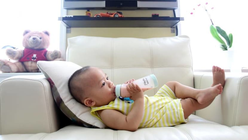 Commentary: Babies with healthier diets are more active, sleep better