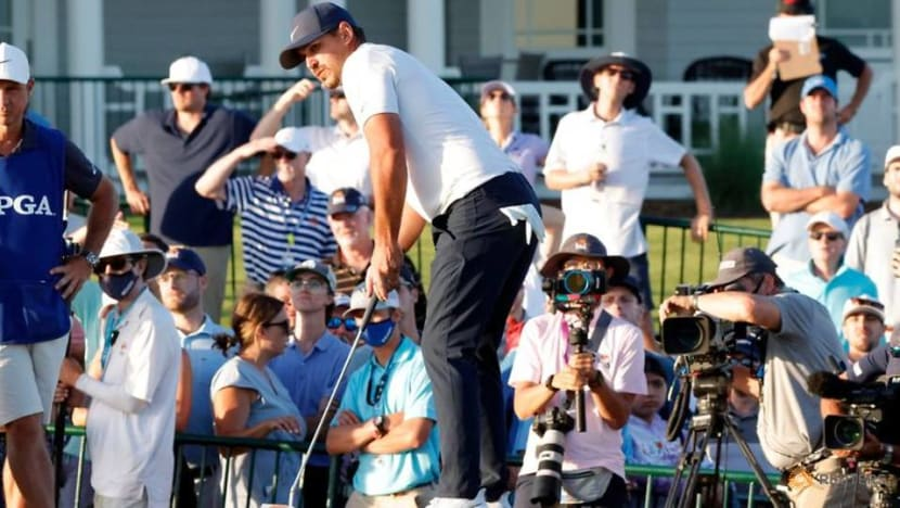 Golf: Koepka's troublesome knee no issue after firing solid 71