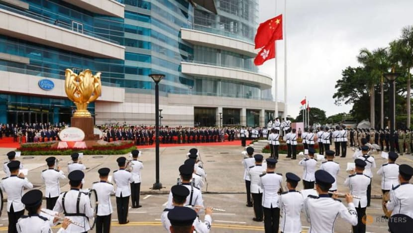 Security tight in Hong Kong on China anniversary, official says city now stable