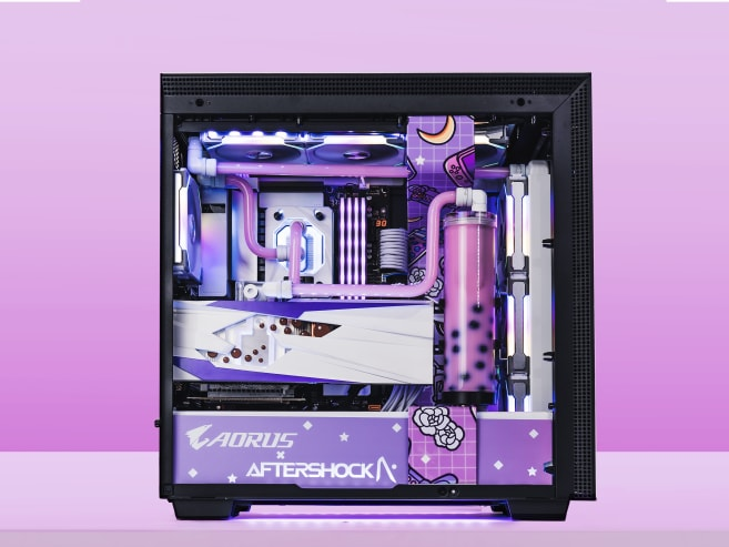 The 'world's first bubble tea' gaming PC costs over S$10,000 – but it's not for sale