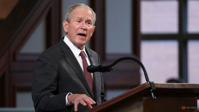 Former president Bush says US must quickly aid Afghan refugees