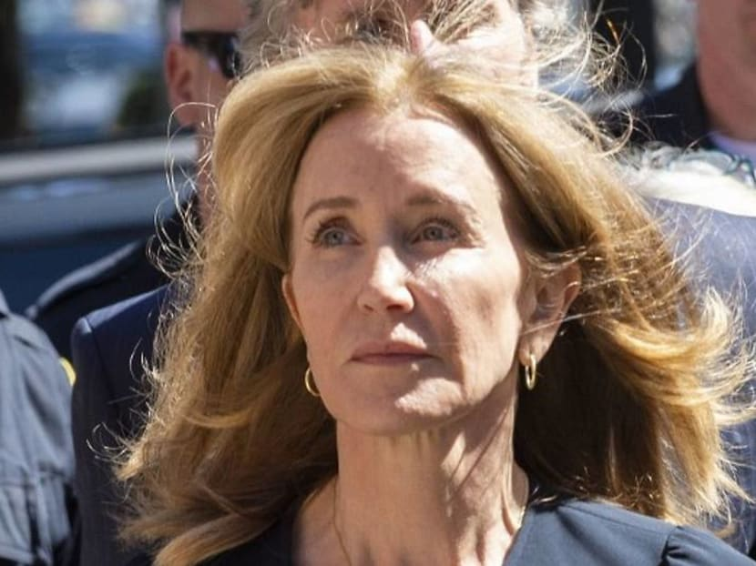 What is actress Felicity Huffman's life like in prison?
