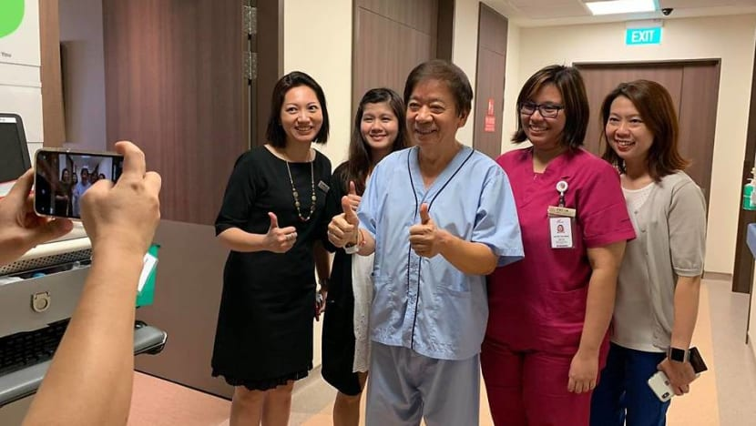 Khaw Boon Wan leaves hospital after surgery for fractured arm