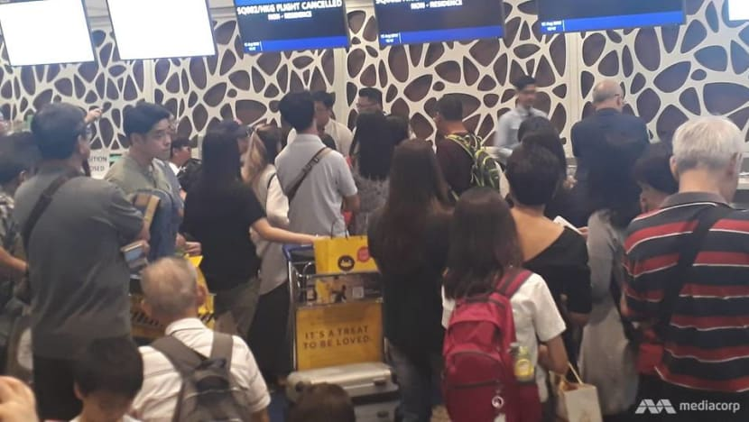 Scoot flight from Singapore to Hong Kong forced to turn back; SIA flight diverted due to airport protests
