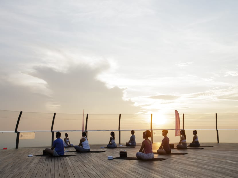 From yoga to HIIT, it's time to book your first sunrise or sunset outdoor workout