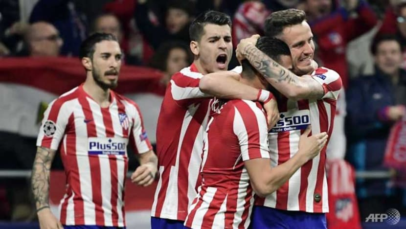 Football: Atletico Madrid beat Liverpool in Champions League last 16, first leg