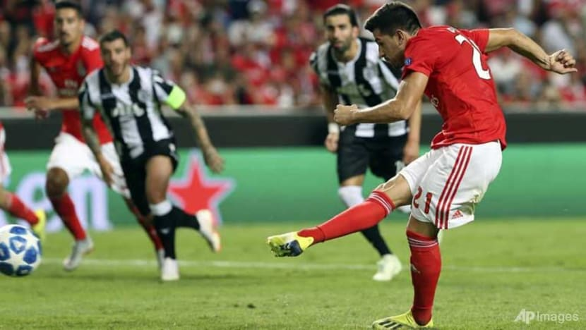 Football: Benfica's Champions League hopes in danger as PAOK grab draw