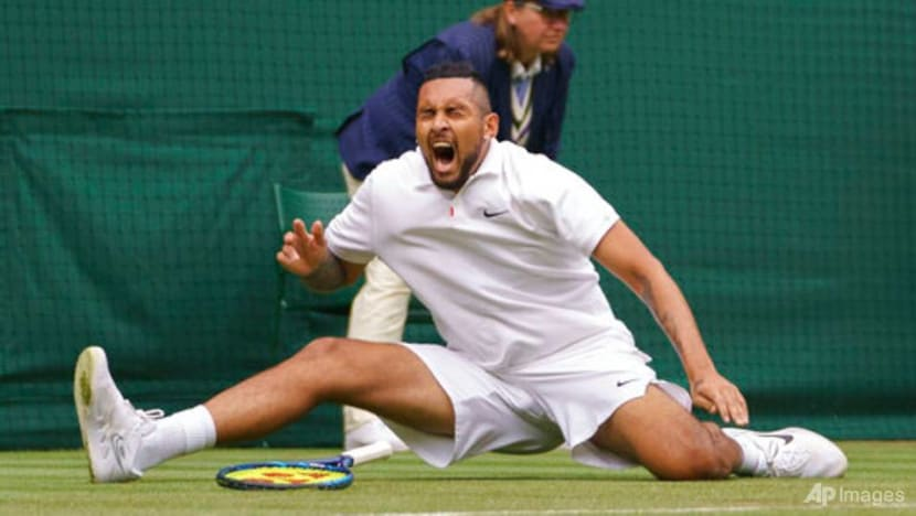 Tennis: Kyrgios wins shootout with Humbert to reach round two