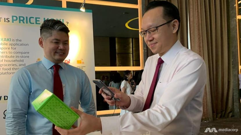 CASE launches new app to compare prices of groceries, household items and hawker food