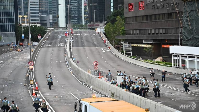 Hong Kong authorities shut government offices due to protests