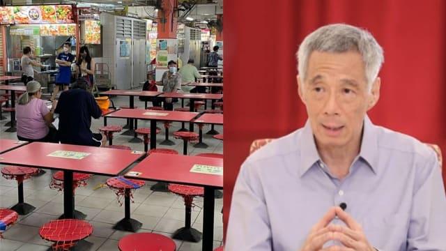 未接种疫苗者被禁堂食 李总理吁国人调整心态