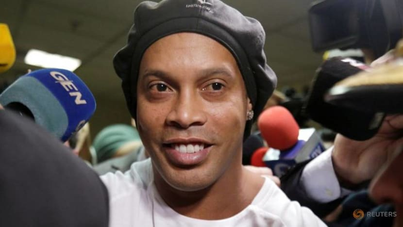 Football: Ronaldinho moves closer to release from Paraguayan ordeal