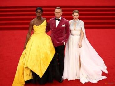 Bond is back: 007 film No Time To Die premieres in London