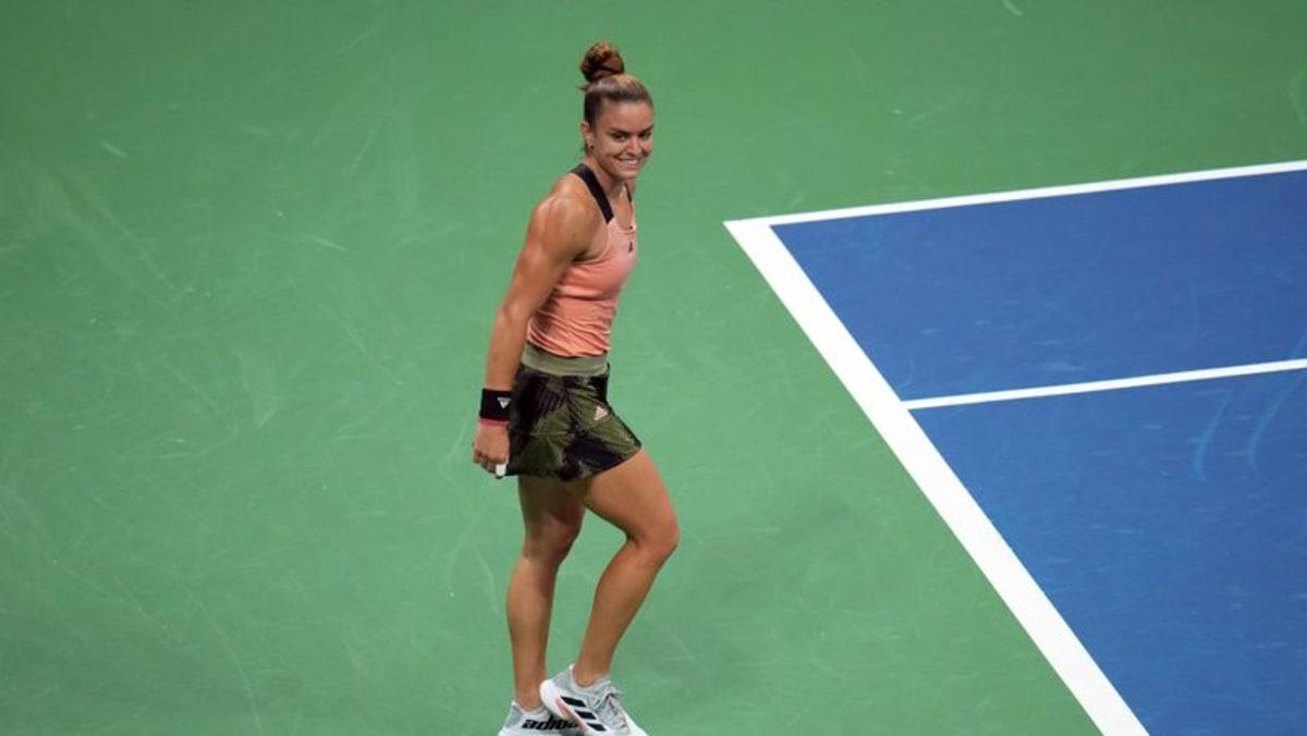 Tennis - Rock-solid Sakkari reaches US