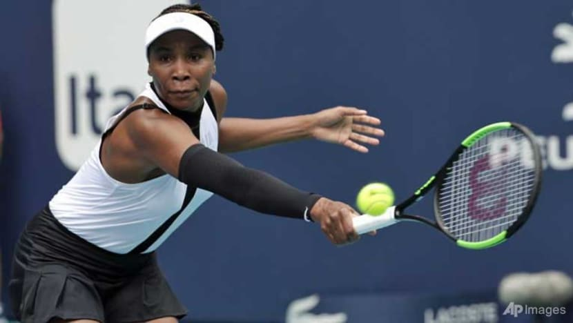 Tennis: Venus Williams holds off Jakupovic to advance at Miami Open