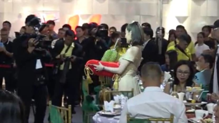 Single durian sells for US$48,000 at Thai auction