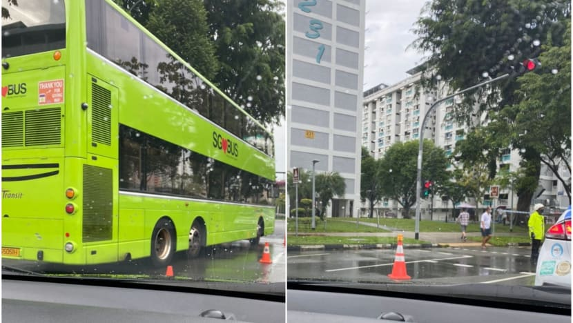 Pedestrian dies, bus driver arrested in Ang Mo Kio accident
